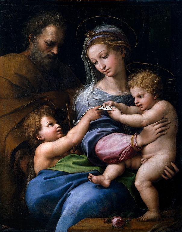 Raffaelo Santi, Madonna della Rosa