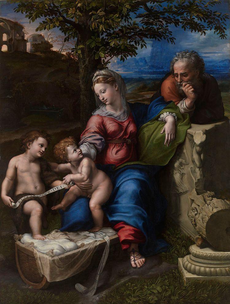 Raffaelo Santi, The Holy Family