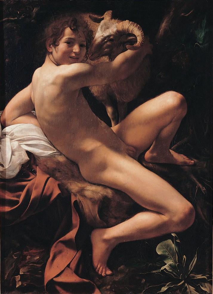 Caravaggio, John the Baptist