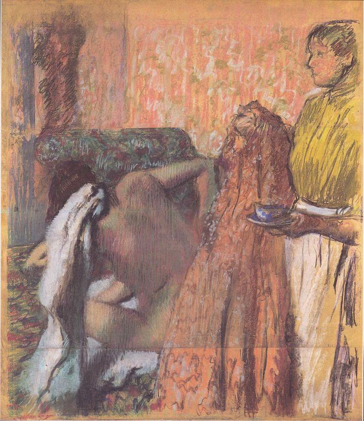 Degas, breakfast after the bath