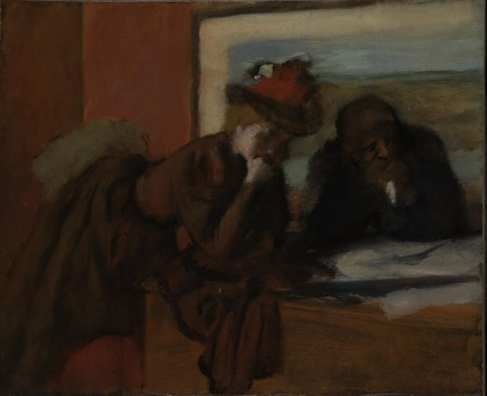 Degas, Conversation