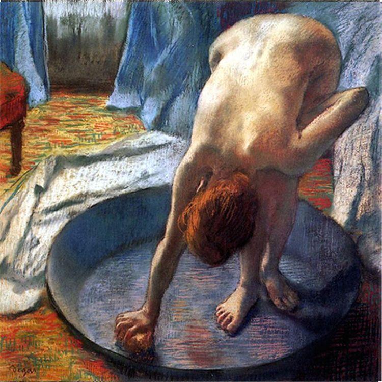 Degas, The Tub