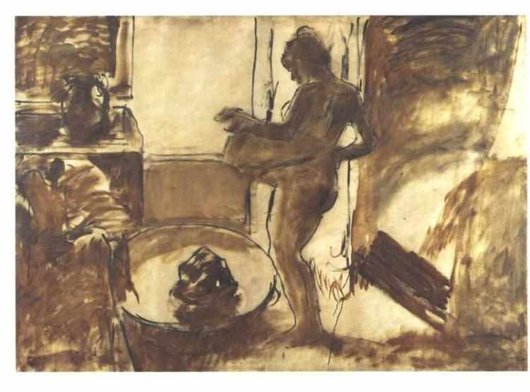 Degas, The Tub