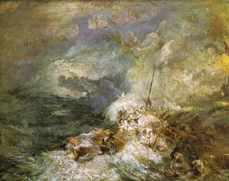 Turner, Fire at sea