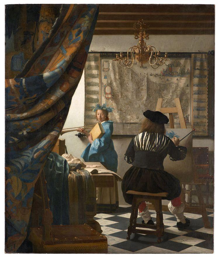 Vermeer, The Art of Painting