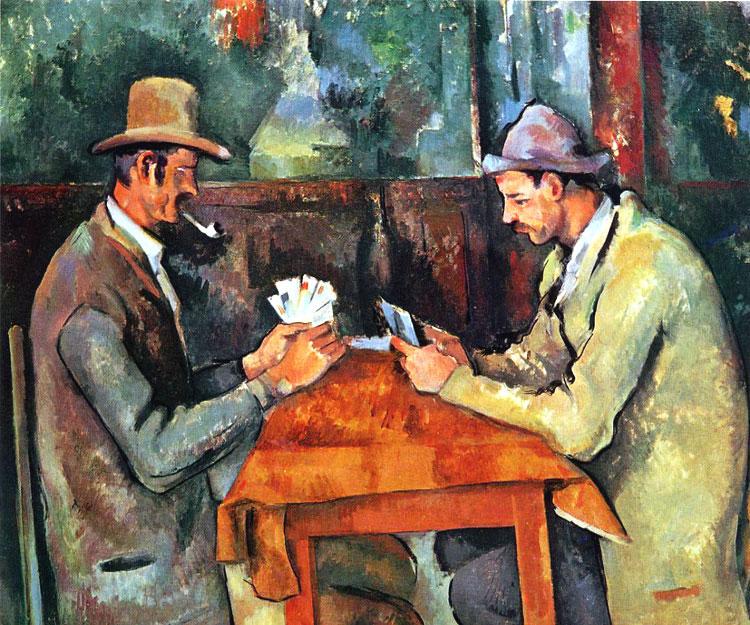 Cezanne, Les joueurs des cartes