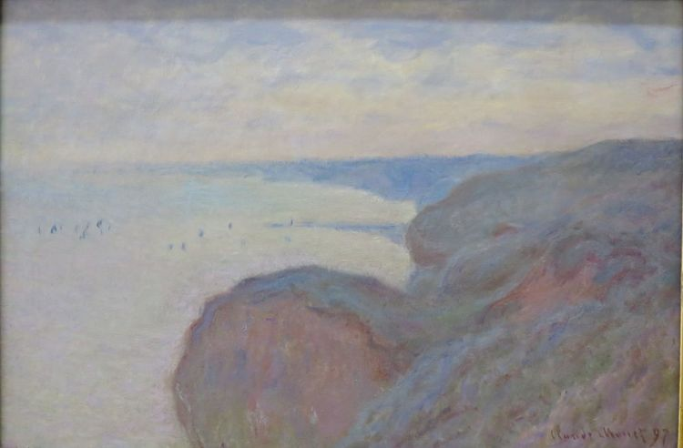 Monet, Cliffs near Dieppe