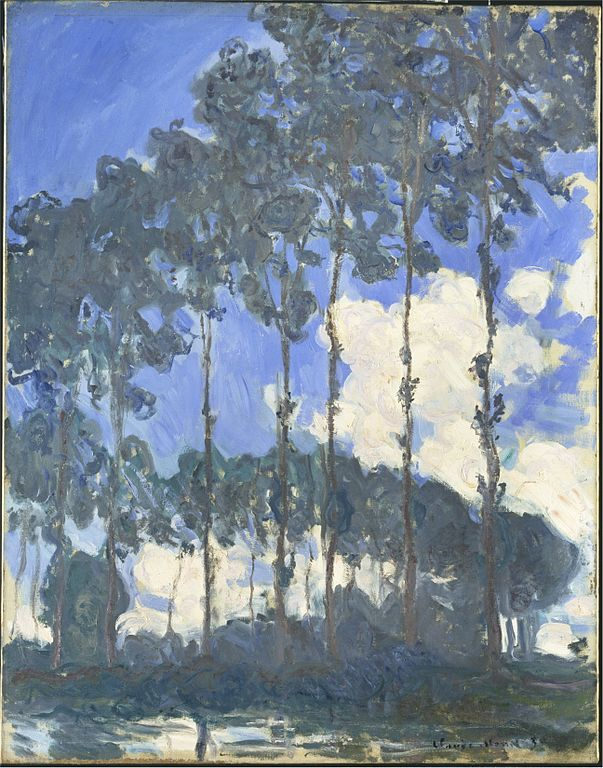Monet, Poplars on the Epte