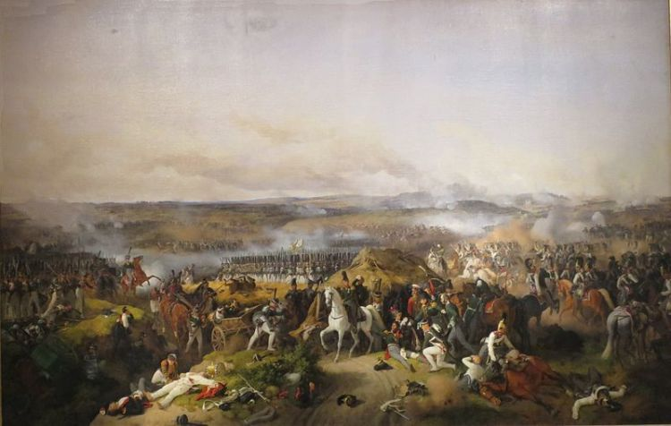 Peter von Hess, the Battle of Borodino