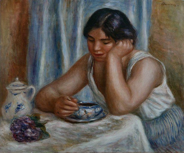 Renoir, la tasse de chocolat