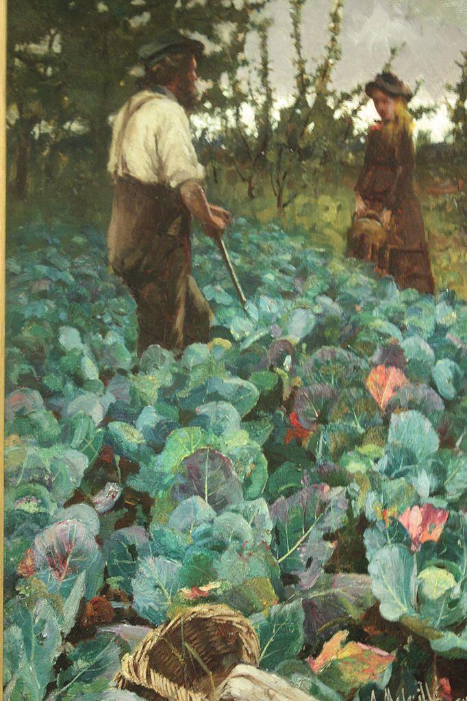 Arthur Melville, A Cabbage garden