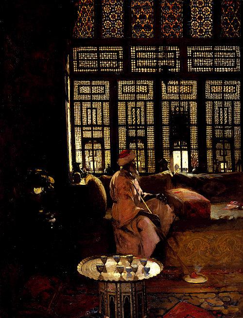 Arthur Melville, An Arab interior