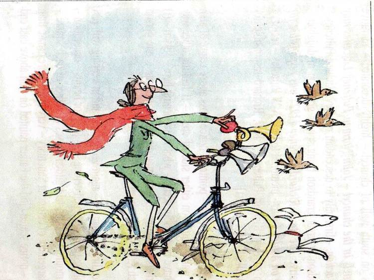 BICYCLE - QUENTIN BLAKE