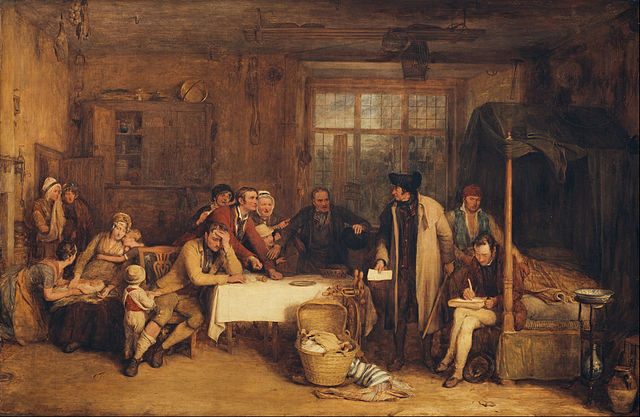 David Wilkie, distraining for rent