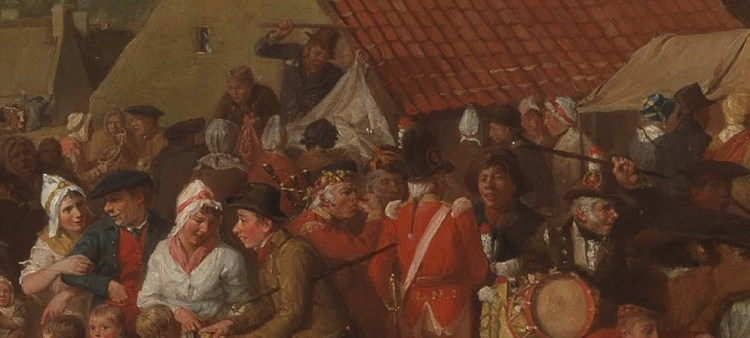 David Wilkie, Pitlessie Fair, detail 1