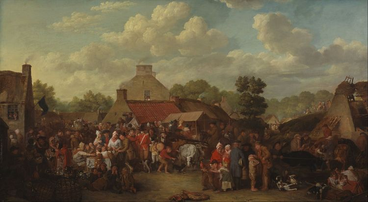 David Wilkie, Pitlessie Fair