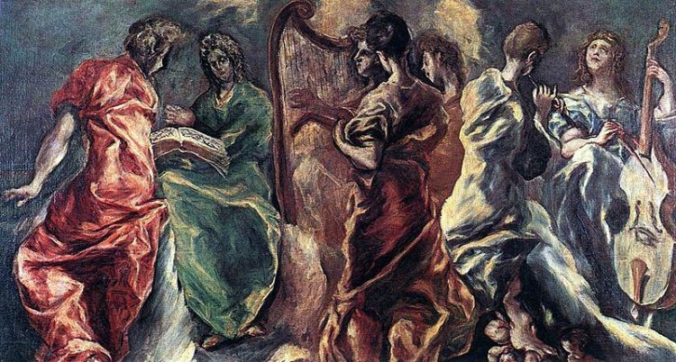 El Greco, the Angelic concert