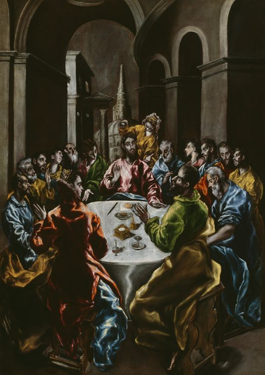 El Greco, the feast in the house of Simon