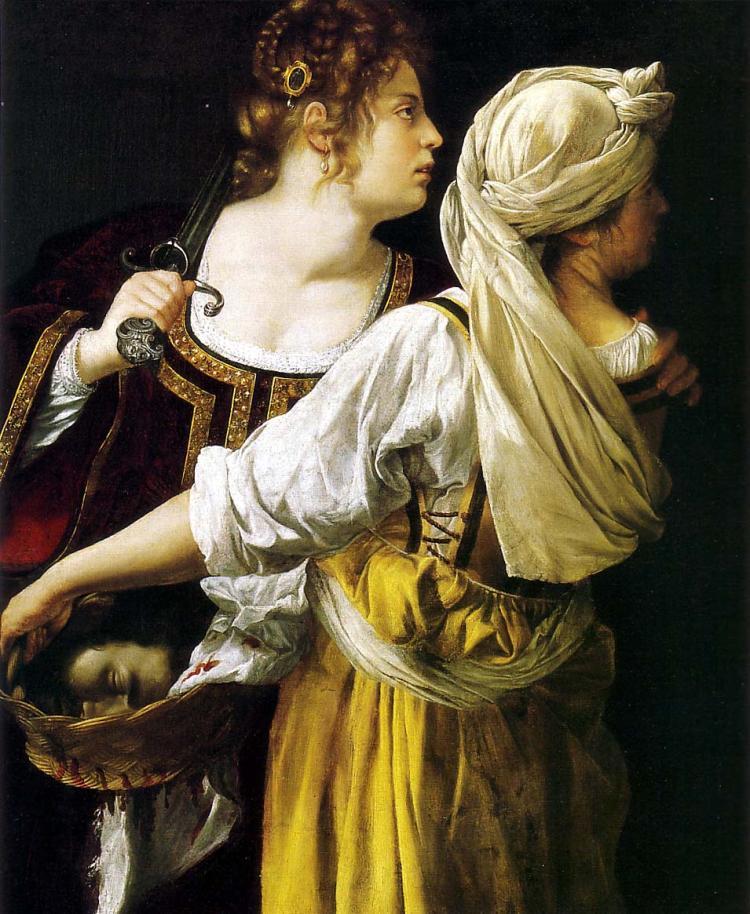 Gentileschi, Judith and her maidservant