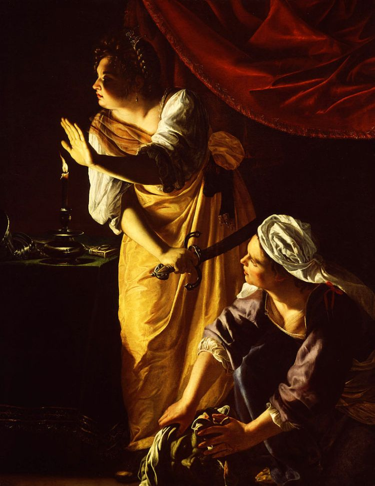 Gentileschi, Judith and her maidservant