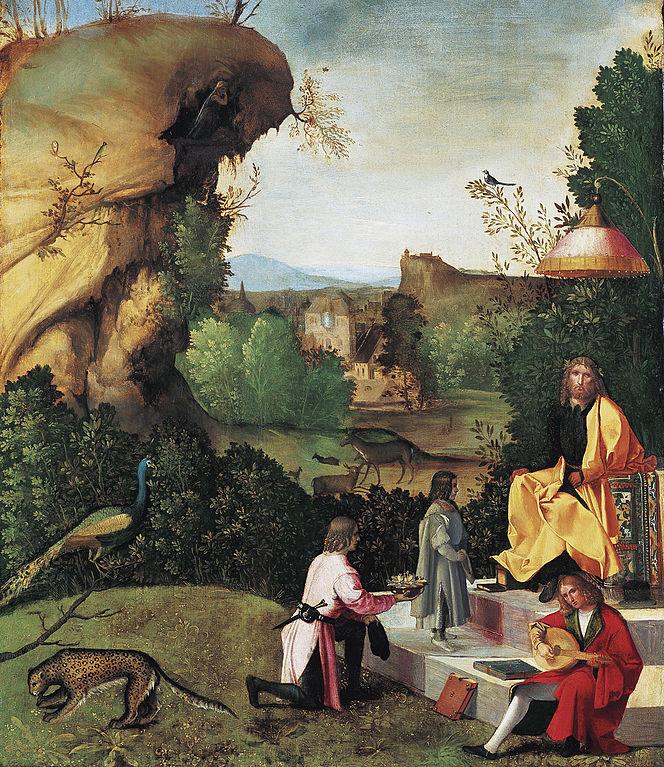 Giorgione, omaggio a un poeta