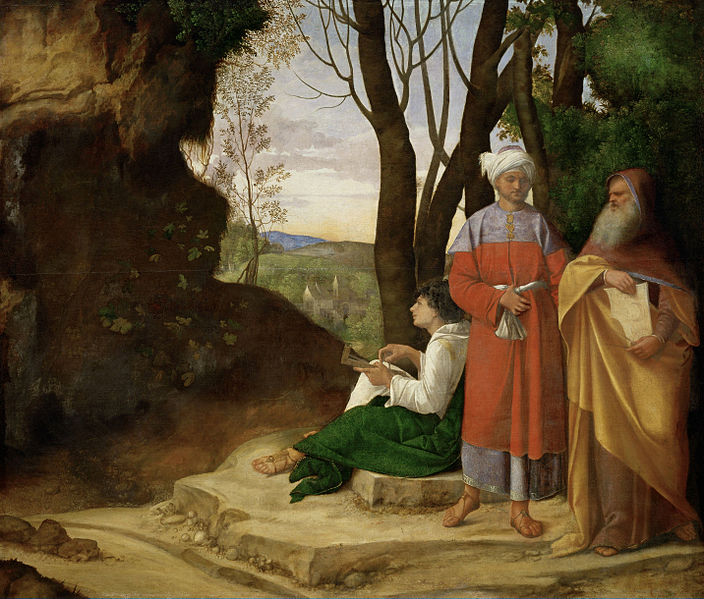 Giorgione, The Three Philosophers