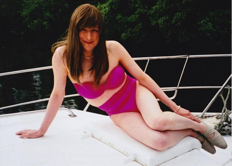 transgender penis tucked bikini yacht