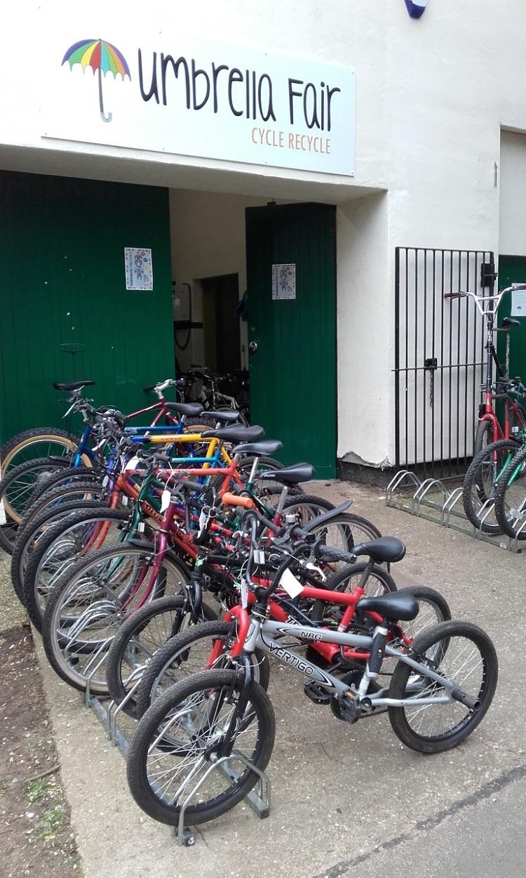 Umbrella Fair Cycle Recycle