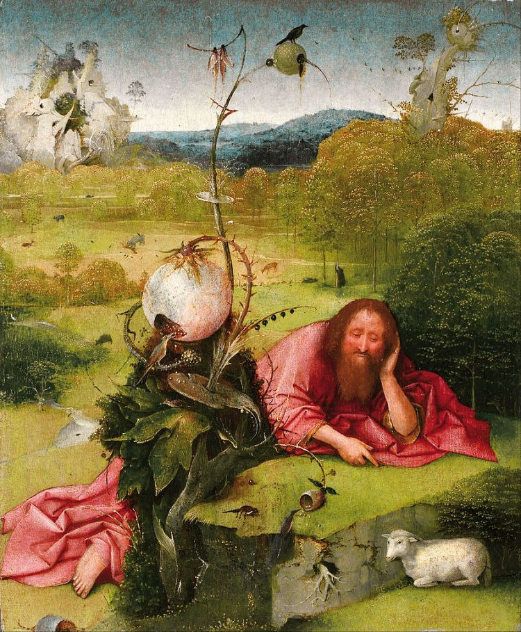 Bosch, John the Baptist in the Wilderness