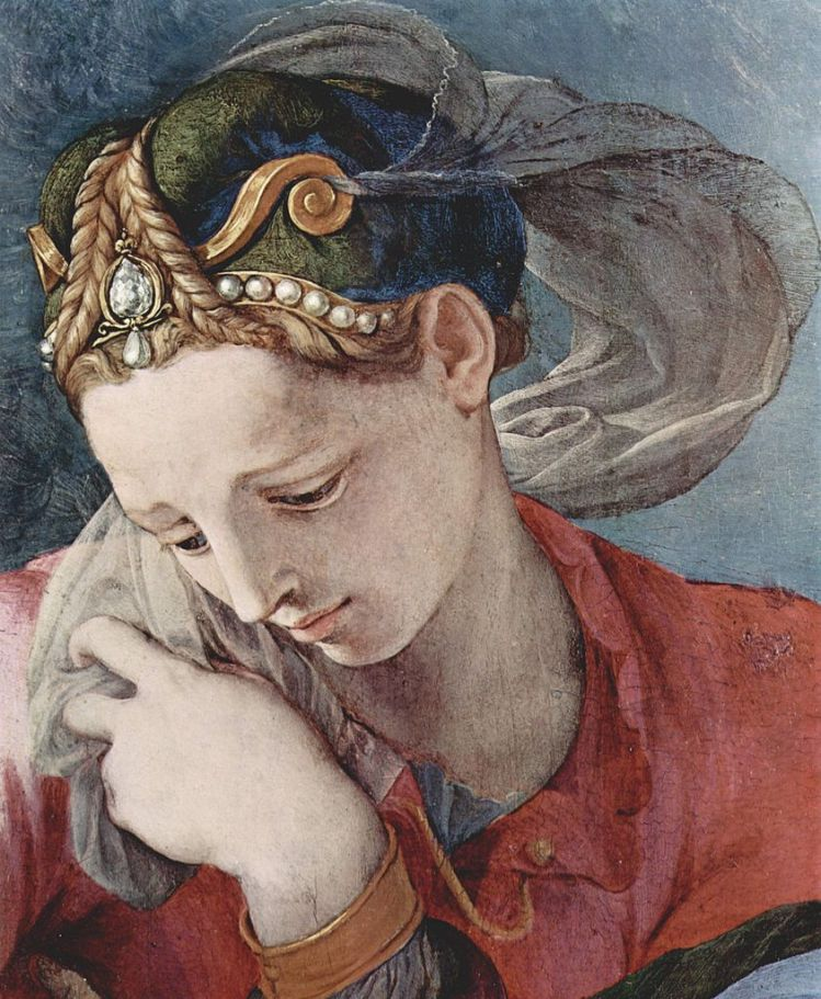 Bronzino, detail from an altarpiece 1