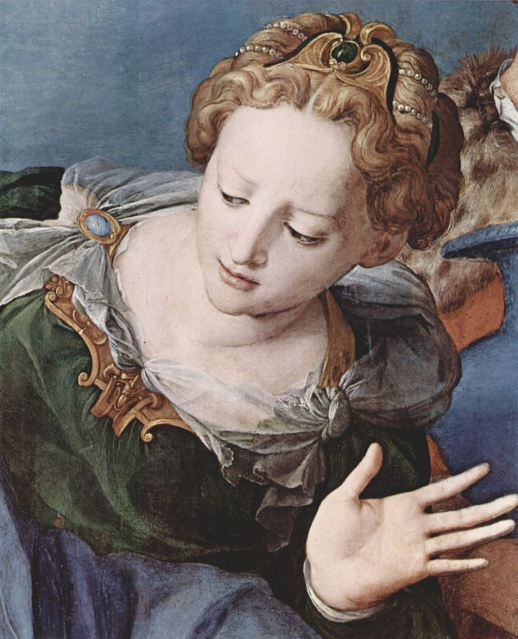 Bronzino, detail from an altarpiece 2