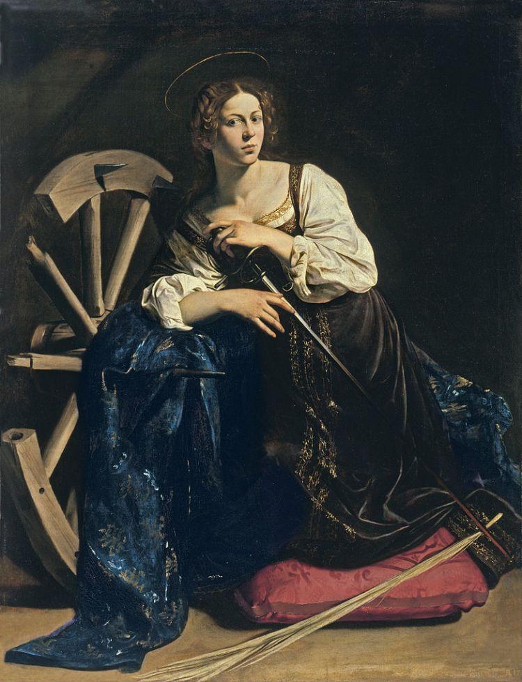 Caravaggio St Catherine