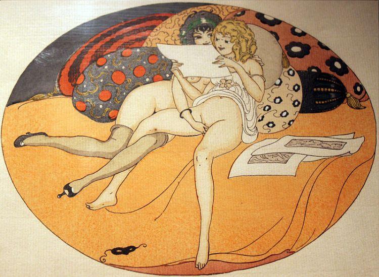 Gerda Wegener Les Delassements d'Eros