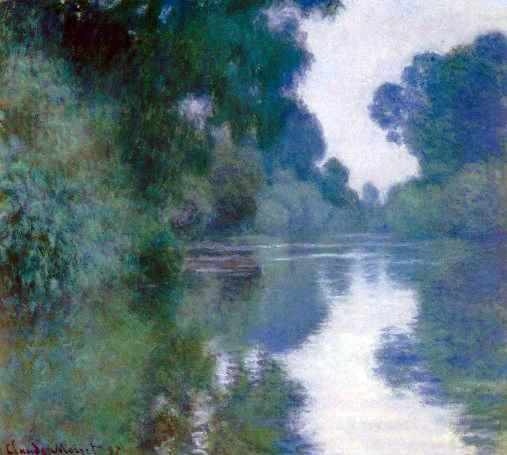 Monet, Branch of the Seine near Giverny