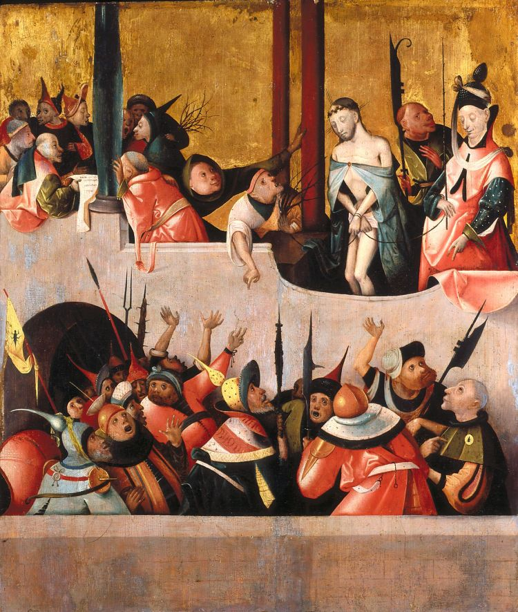 Bosch or follower, Ecce Homo 1590s