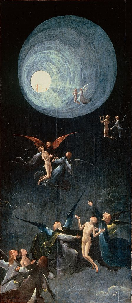 Bosch, the ascent to Heaven