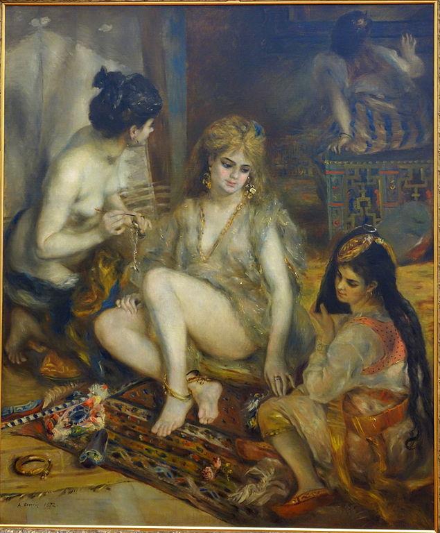 Renoir, Parisiennes in Algerian costume