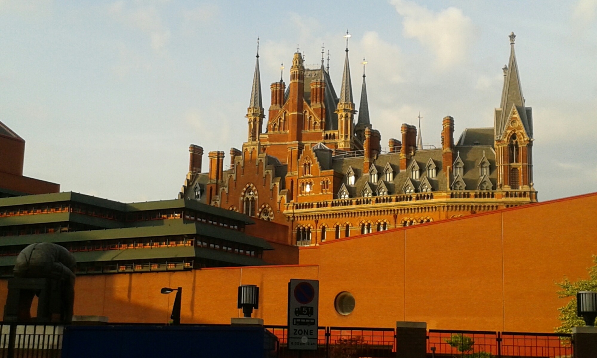 St Pancras, castle in the air