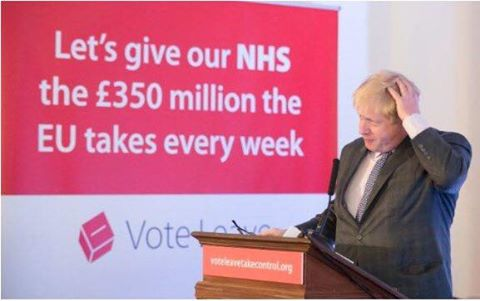 Boris Johnson, lying