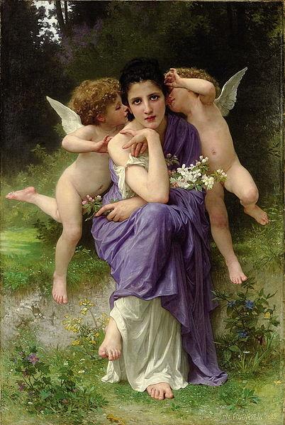 Bouguereau, chanson de printemps