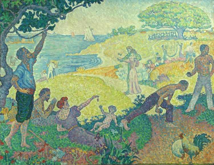 Paul Signac, In the time of harmony. the Golden Age is not passed, it is still to come