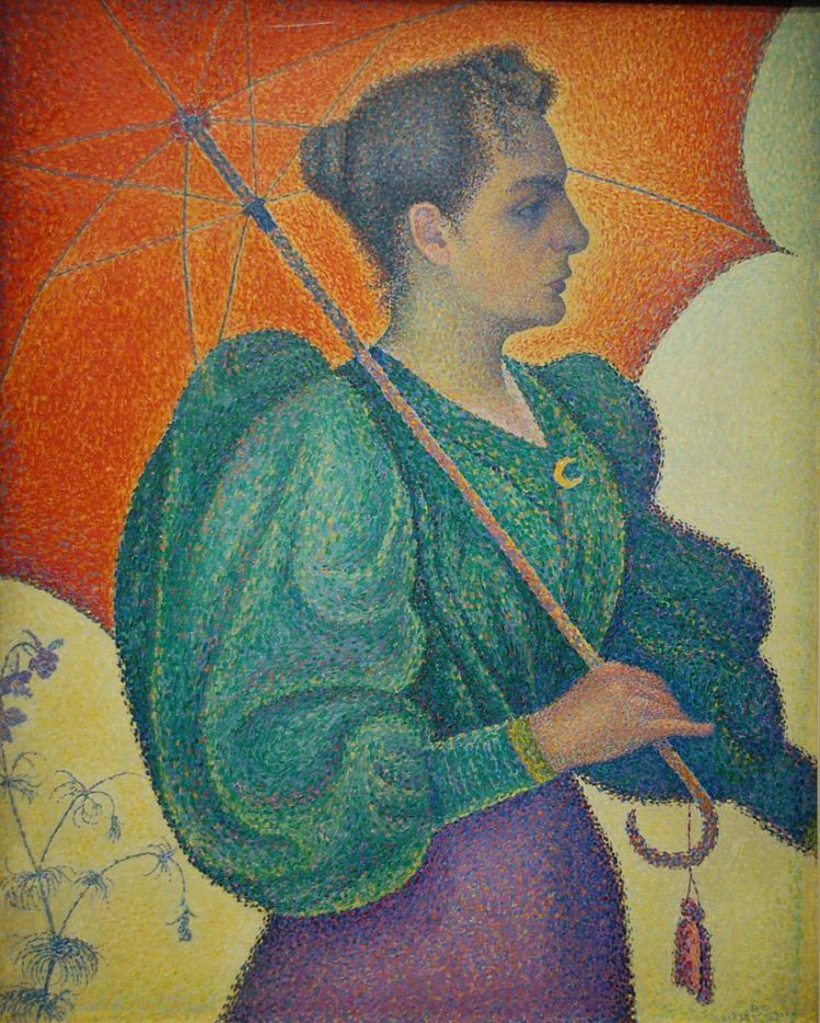 Signac, Femme a l ombrelle