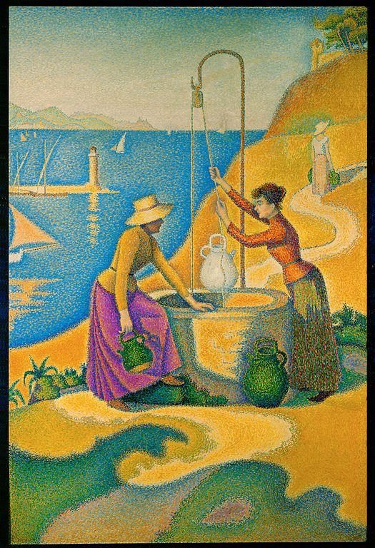 Signac femmes au puits