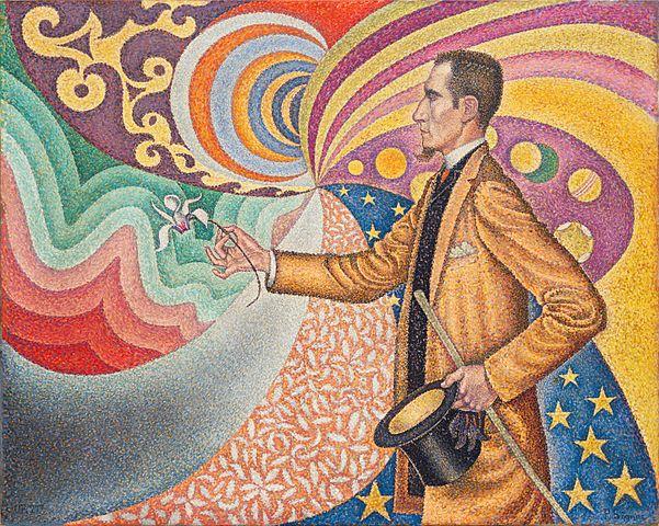 Signac, portrait of Felix Feneon