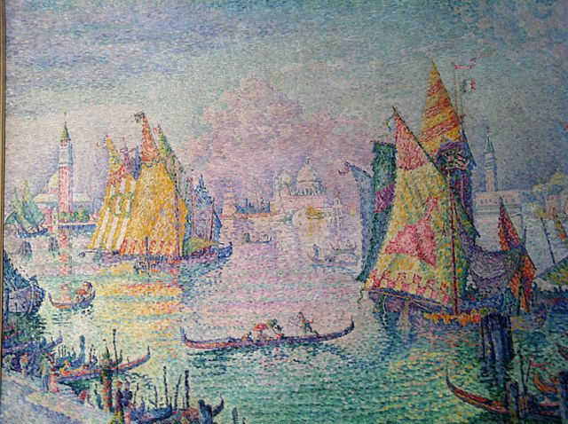 Signac, the lagoon of St Mark, Venice