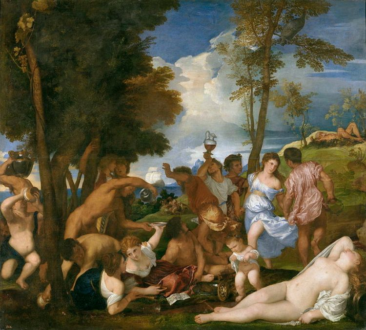 Titian, Bacchanal of the Andrians