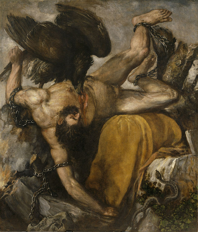 TItian, the punishment of Titius