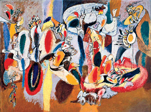 Arshile Gorky, the liver is the cocks comb