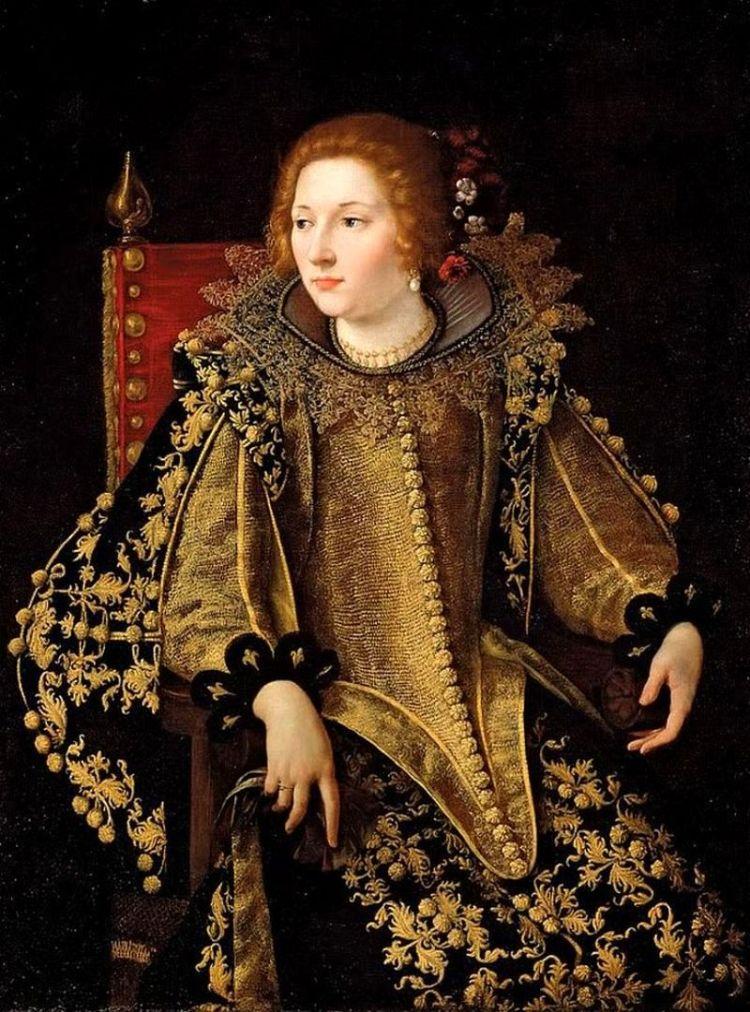 Ritratto di una signora seduta (Principessa Caterina Savelli)