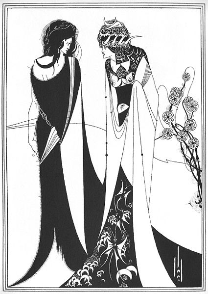 Aubrey Beardsley, illustration for the Oscar Wilde play Salome